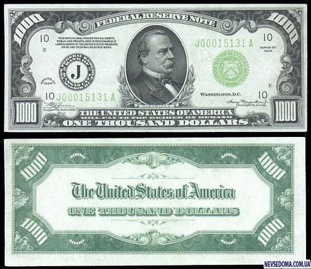 Эволюция доллара США