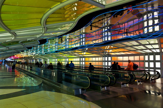 Международный аэропорт О'Хара, Чикаго. O-Hare International Airport