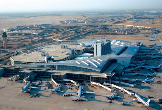 Международный аэропорт Даллас / Форт-Уэрт/. Dallas Fort-Worth International Airport (DFW)
