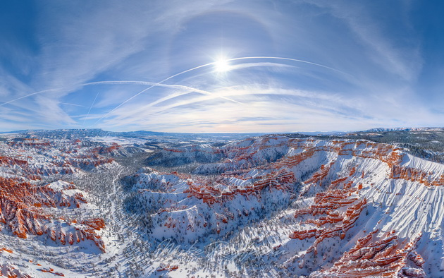 bryce canyon snow Брайс-Каньон