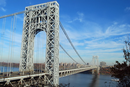 мост Джорджа вашингтона george washington bridge