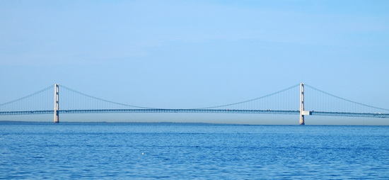 Мост Маккинак (Mackinac Bridge)