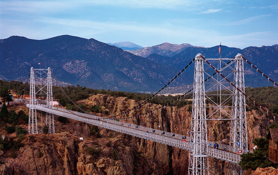 Мост Ройал Джордж royal gorge bridge