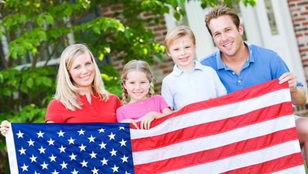 Воссоединение с семьей в США