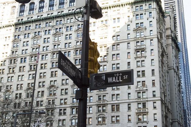 wall street Уолл-стрит